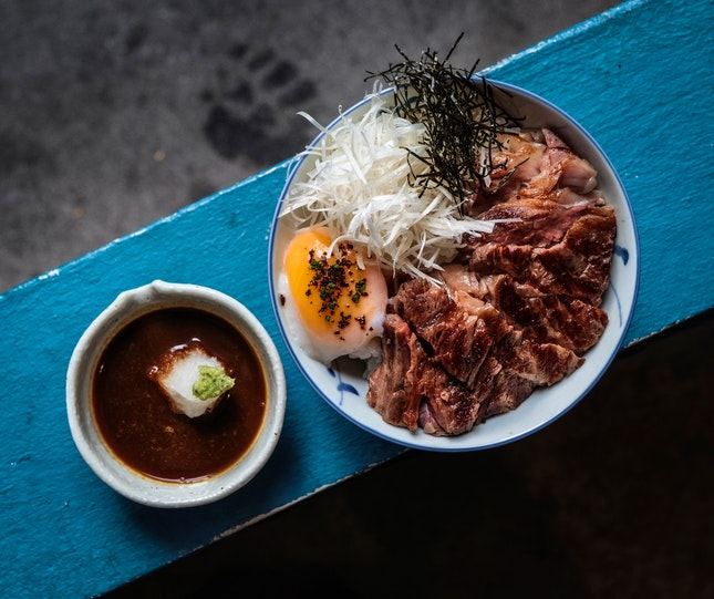 What happens when a bowl of Mini Wagyu Don looks that friggin fantastic?