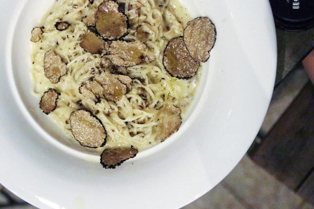 Real truffles > truffle oil, anytime