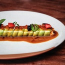 Stunning. That may even be understating the fabulous dish that's Olivia's Catalunya Lobster-Avocado roll.