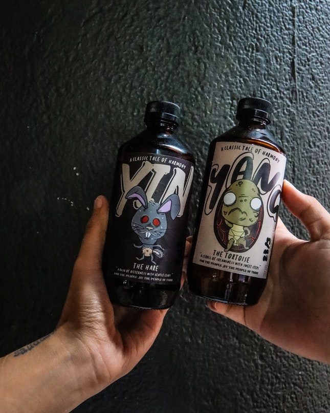 How adorable are these bottles of cold brews by TMBH🥰🥰🥰