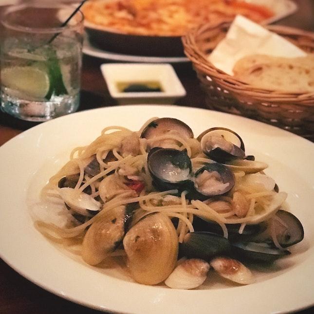 Below average pasta.