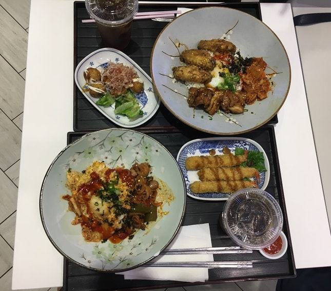 Awesome Korean Food.