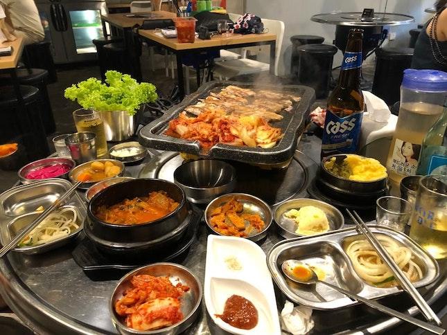 Kimchi Pork BBQ