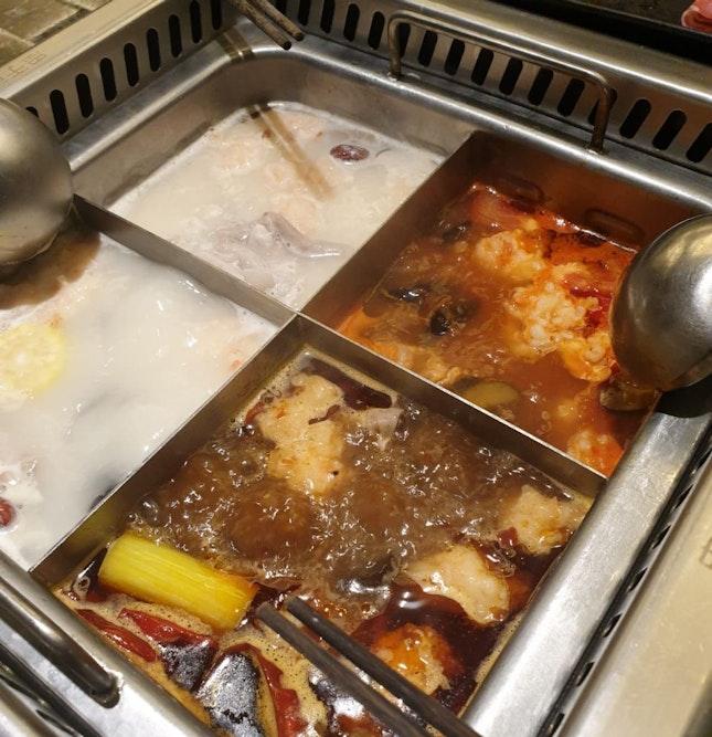 Mala, Tomato, Collagen and Pork Bone Soup Base