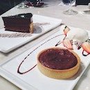 I loooooovveeee tarts and this warm choc tart definitely did not disappoint!!