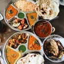 Chicken Tikka Set Meal, Vegetarian Set Meal, Lamb Curry, Garlic Naan, Tandoori Roti With Dried Mint