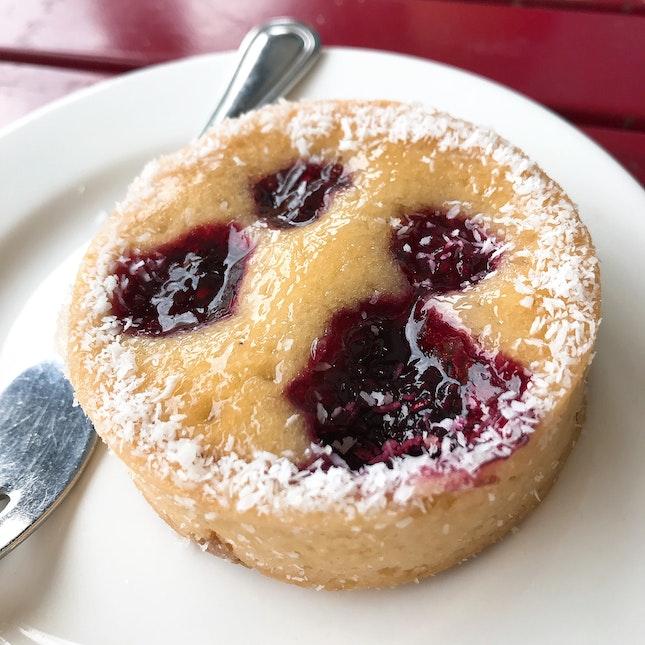 Raspberry Tart ($6+)