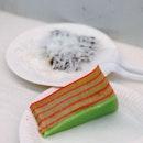 Kueh Lapis ($3.50 Per Slice), Kueh Ko Swee ($4.50 For 3)