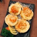 Cheese Mentaiko Scallop