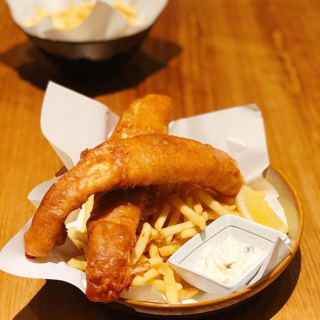 Fish And Chips ($15++ U.P.; On Burpple Beyond)