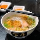 Yong Tau Foo Bee Hoon Soup ($4.50/ $5.50), Fried Chicken Wings ($6, Not In Pic)
