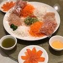 Fatt Choy Smoke Salmon Yu Sheng