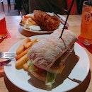 Piggy Sandwich, Fish n Chips