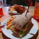 Piggy Sandwich, Fish n Chips