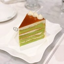 Pandan Gula Melaka Cake ($13++)