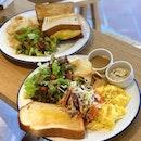 Tamago Sando ($13+ U.P.), Scrambled Eggs Toast ($15+ U.P. ) Both On Burpplebeyond