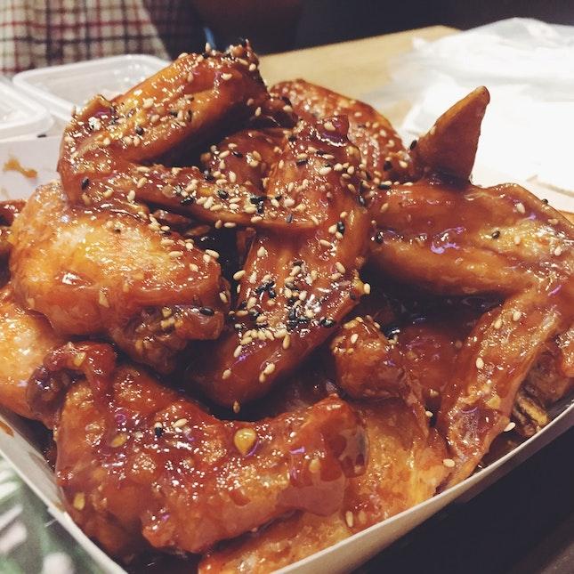 Wings in Bulgogi Sauce
