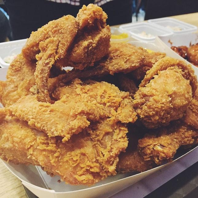 Crispy Whole Chicken