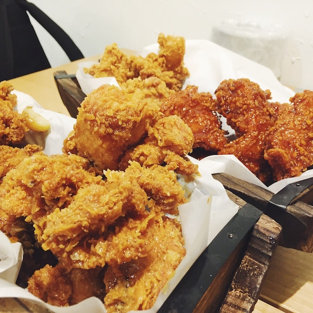 Korean Fried Chicken ($30 for whole chicken)