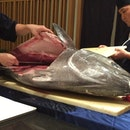 😍🐟😋 #burpple #burppletastemaker #japanese #tuna #sushi #sashimi #dinner