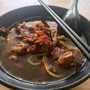 Pork Ribs Prawn Noodle ($4)