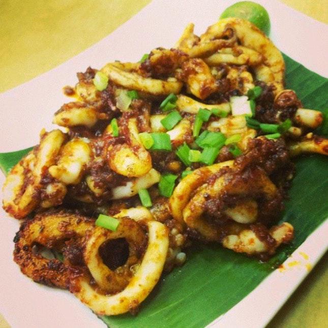 #Sambal #Squid, how can anyone resist?