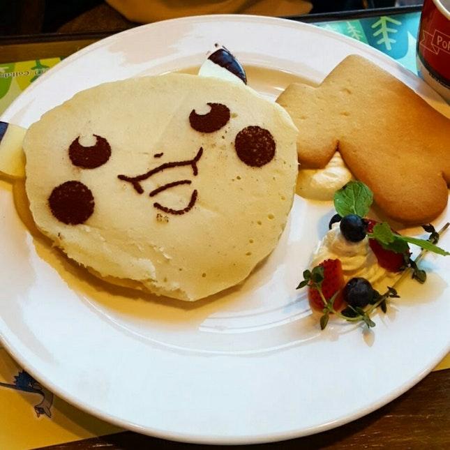 Pikachu's Sweeeeeeet Pancakes