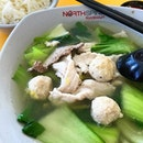 Pig's Organ Soup with Vegetables ($5.20)