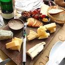 7 cheese platter ($59) .