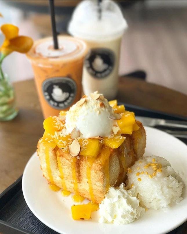 Mango Sticky Rice Shibuya Toast ($11.90) .