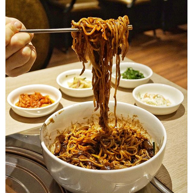 Currently in search of the best jajangmyeon in Singapore after rampaging all around Korea.