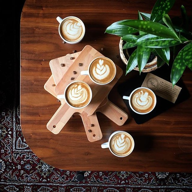 What are the five things you look for when enjoying a cup of coffee?