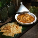 Massaman Chicken Curry with Crispy Roti ($13.90++).