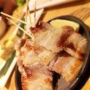 Pork Skewers For Quick Bite