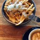TRUFFLE FRIES ($8)