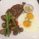 Gourmet Steak & Eggs [$24.50]