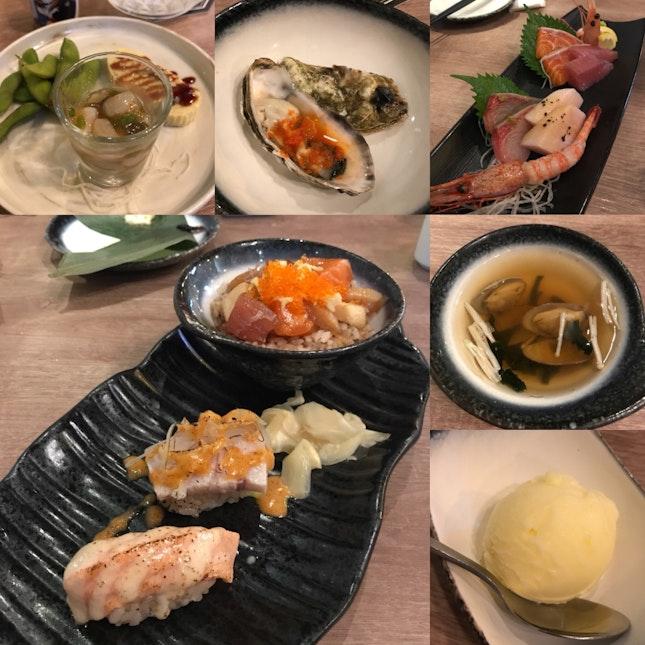 Chef's Table Set Menu 1-1 Promo [$78]