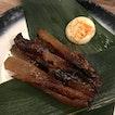 Fugu mirin boshi 河豚味醂ぼし [$13]