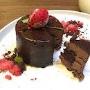 Chocolate Merlot Cake [$11]