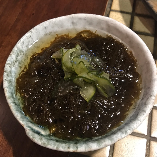 Vinegared Okinawan Mozuku-Seaweed [$8]