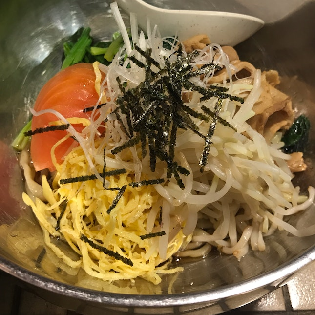 Cold Noodle with soya sauce [$14.80]