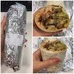 Pollo Asado (chicken) Burrito [$12]