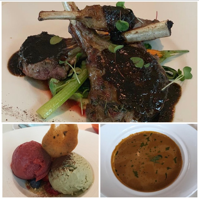 3 Course Set Lunch - $52