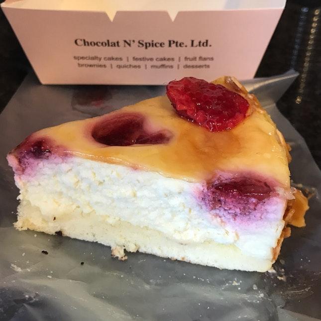 Raspberry Cheesecake [$3.80]