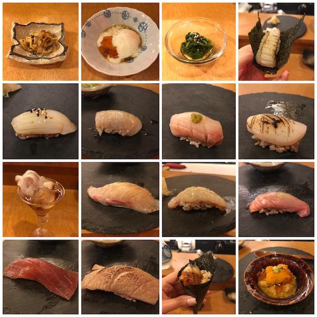 Premium Omakase (16-course) [$98]