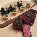 Grilled USDA Prime New York Sirloin Steak [$92]