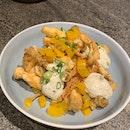 Mushroom tempura | Pickled daikon, truffle aioli [$18]
