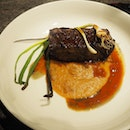 Angus short rib | onion jam, port wine reduction [$39]