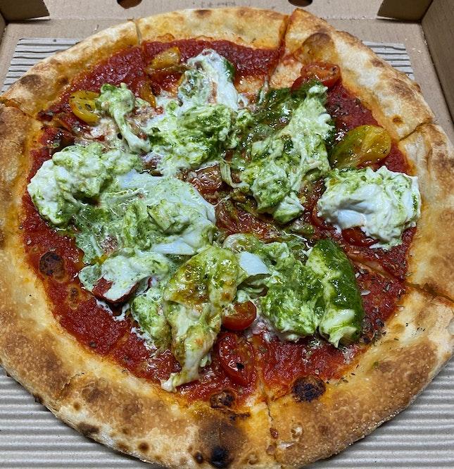 Burrata Pizza [$26]