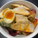 Petit size DIY bowl - 1 base, 1/2 protein, 2 sides, 1 topping [$9]